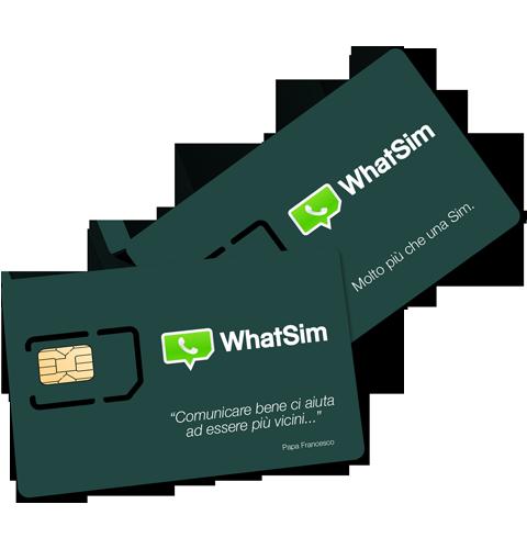 WhatSim - Chattare in tutto il mondo con una sola Sim