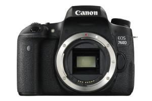Canon EOS 760D vista frontale