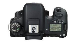 Canon EOS 760D top view