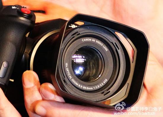 Canon - Videocamera 4K compatta mostrata in anteprima in Cina