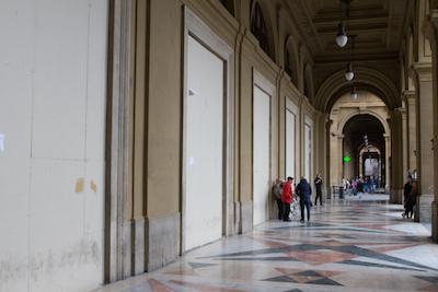 Apple Store Firenze, Piazza della Repubblica - Cantiere chiuso