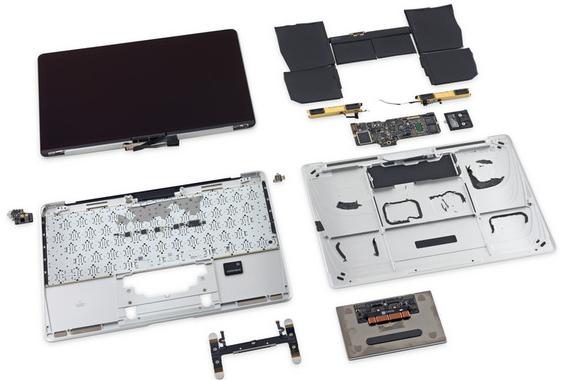 MacBook Retina Early 2015 Teardown