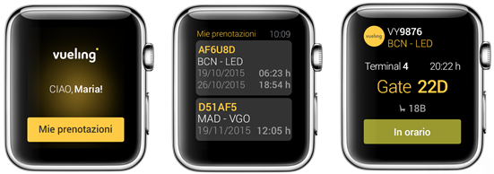 vueling-app-per-apple-watch