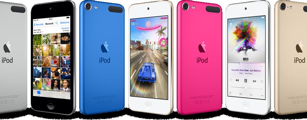 iPod touch - Nuova gamma luglio 2015