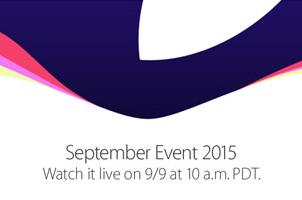 Apple September Event 2015