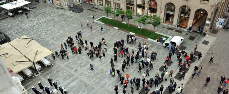 Milano, Piazza del Liberty