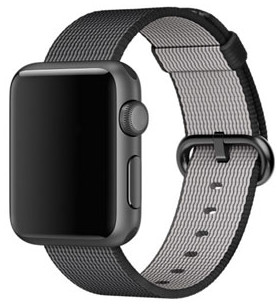 Apple watch con cinturino in nylon