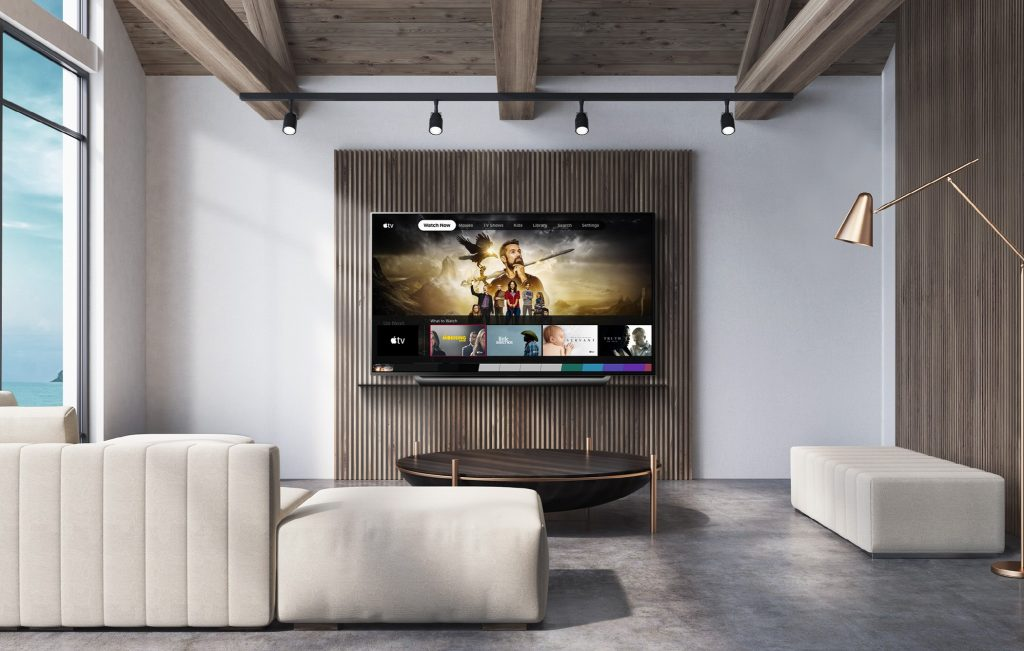 Apple TV sugli smart TV LG