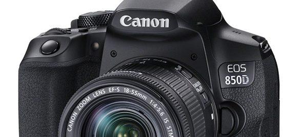 Canon presenta la EOS 850D
