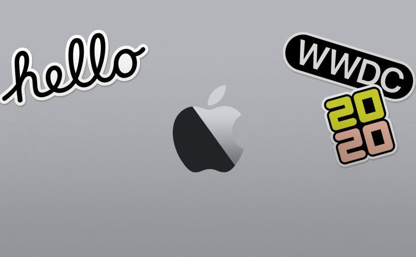 La WWDC 2020 adotterà un nuovo format OnLine