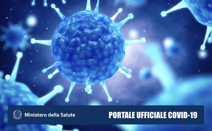 Un portale del Ministero dedicato al Coronavirus