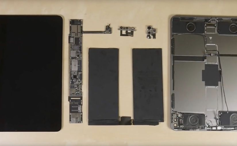 Teardown del nuovo iPad Pro 2020 by iFixit
