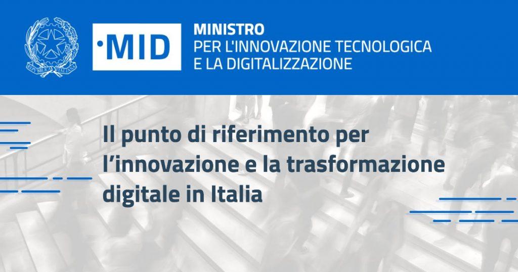 Ministero per l'innovazione tecnologica e la digitalizzazione