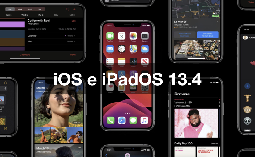 iOS 13.4 - iPadOS 13.4