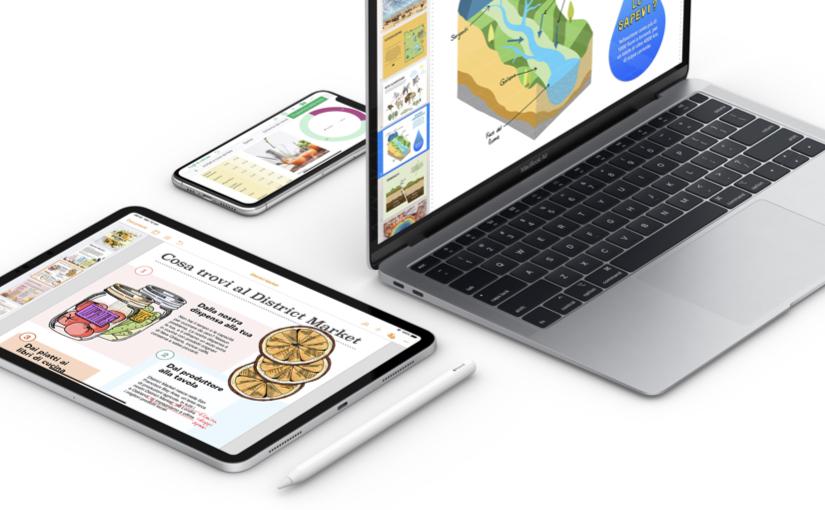 Apple aggiorna le app della suite iWork