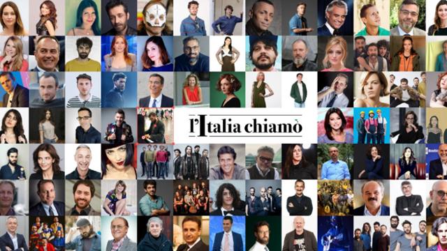 L'Italia Chiamò – Oltre 100 personaggi in diretta streaming e raccolta fondi