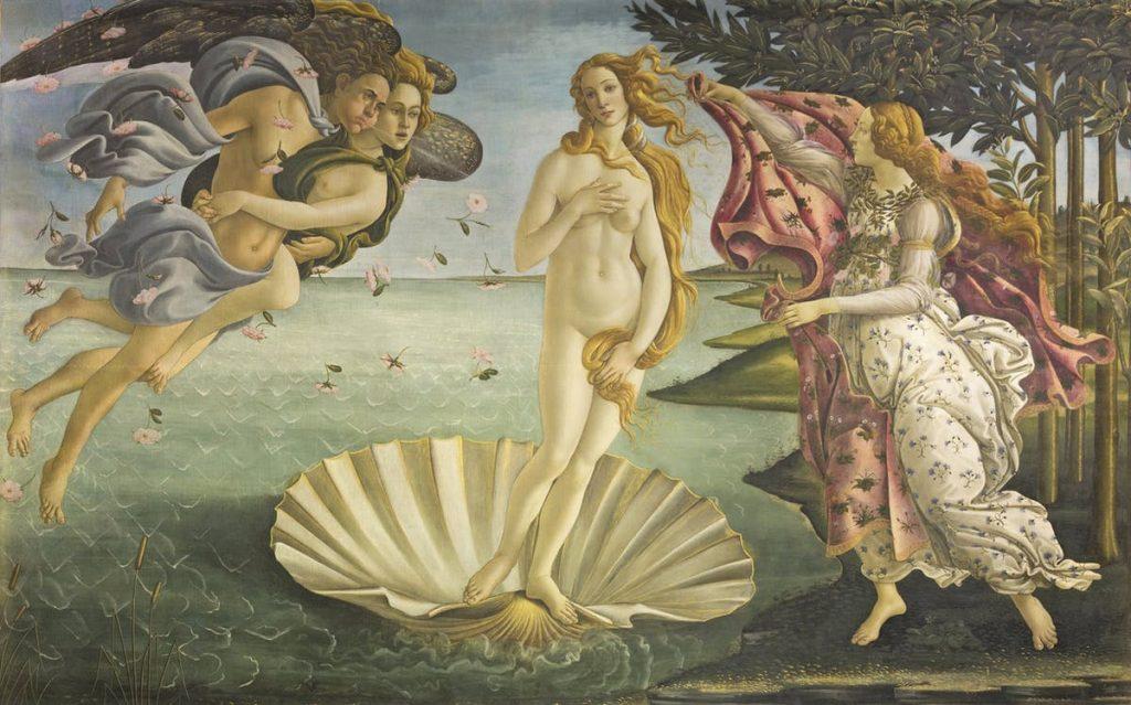 Venere del Botticelli