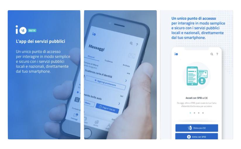 Io, l'app per gestire i rapporti con la Pubblica Amministrazione e l'accesso ai servizi pubblici dallo smartphone
