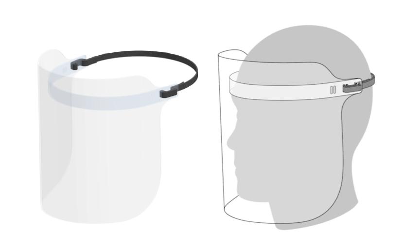 Apple sta producendo scudi facciali per gli operatori sanitari