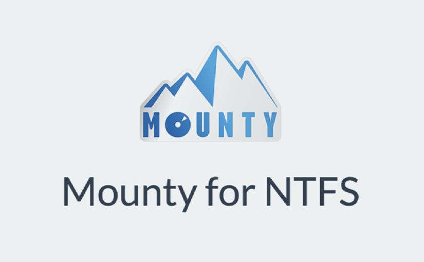 Mounty, utility gratuita per scrivere sui dischi NTFS