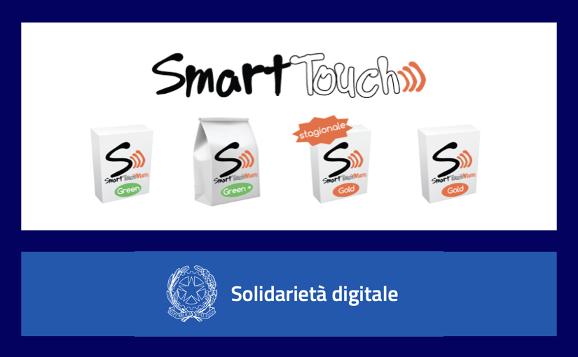 Solidarietà Digitale - Smart Touch Menù