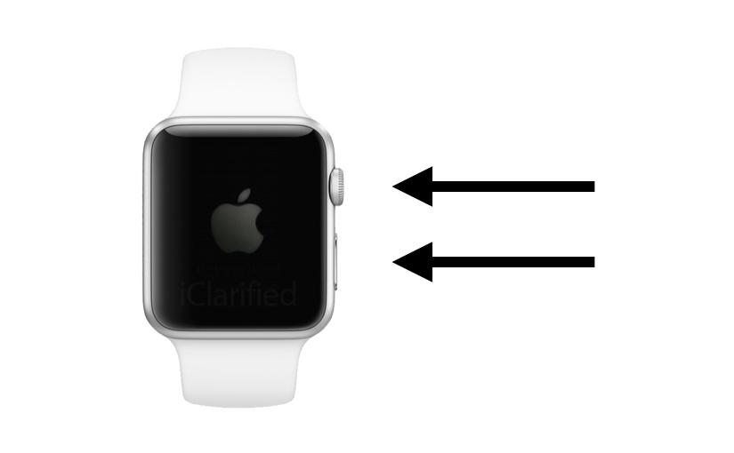 Procedura Riavvio forzato Apple Watch