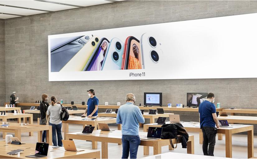 Martedì 19 maggio riaprono 10 Apple Store italiani
