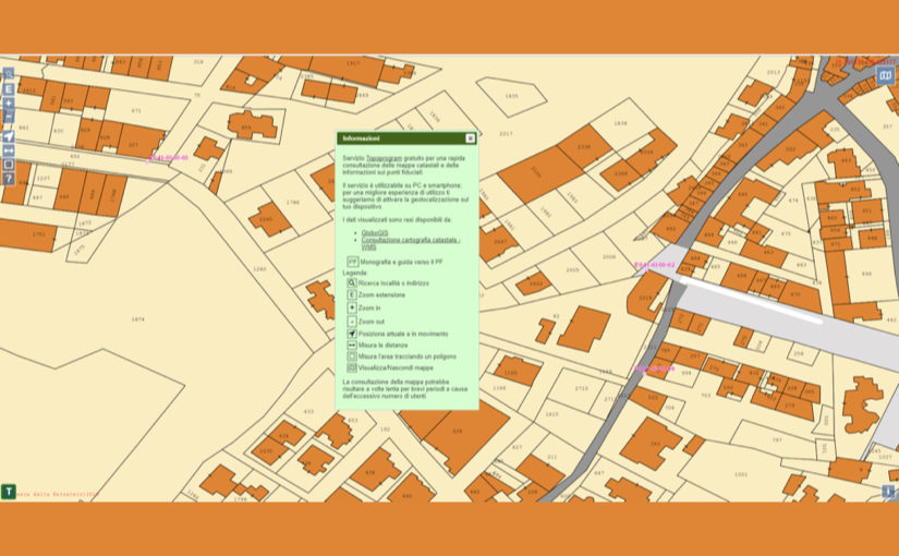 Mappe Catastali gratis su computer e smartphone