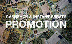 Cashback & Instant Rebate