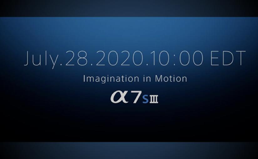 Sony - Annuncio a7sIII