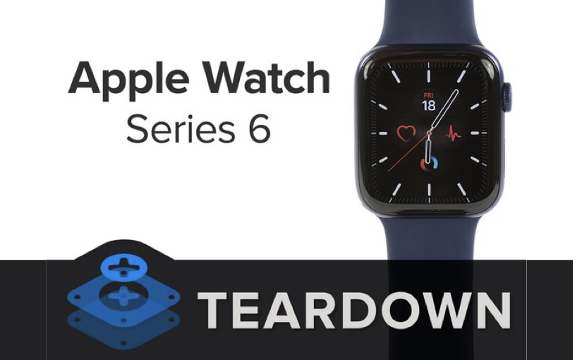 Apple Watch 6, il teardown di iFixit