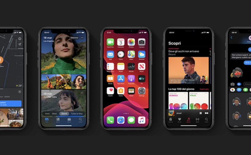 Apple rilascia iOS e iPadOS 13.7