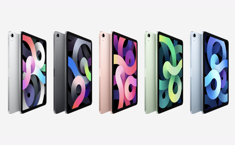 iPad Air 2020 colors