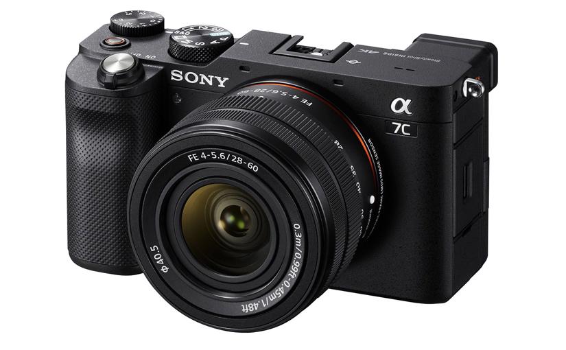 Sony ha presentato la full-frame compatta a7C