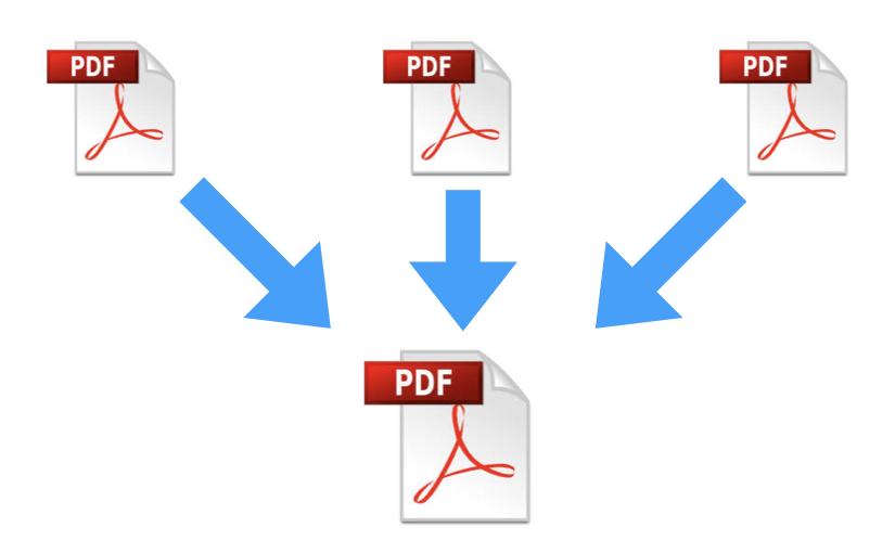 Unire vari PDF in un unico file