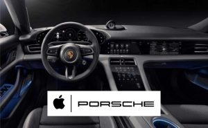 Apple Music e Podcast sulla Porsche Taycan