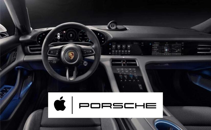 Apple Music e Podcast sulla Porsche Taycan