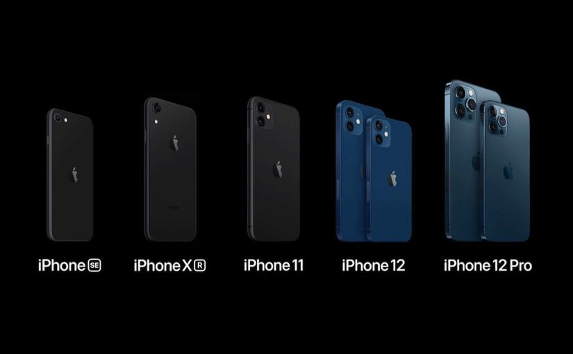 La nuova gamma iPhone e i precedenti modelli che restano a listino
