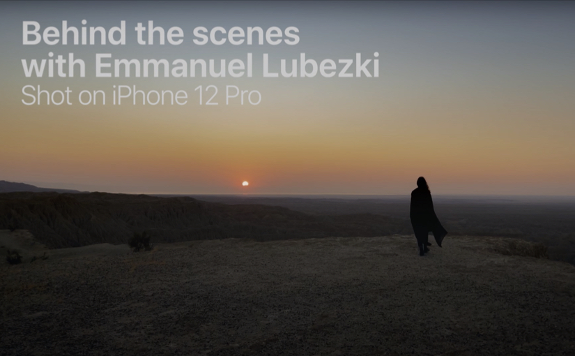 Shot on iPhone 12 Pro by Emmanuel Lubezki