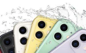 iPhone - Schizzi d'acqua