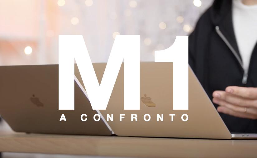 """MacBook Pro 13"""" M1 a confronto"""