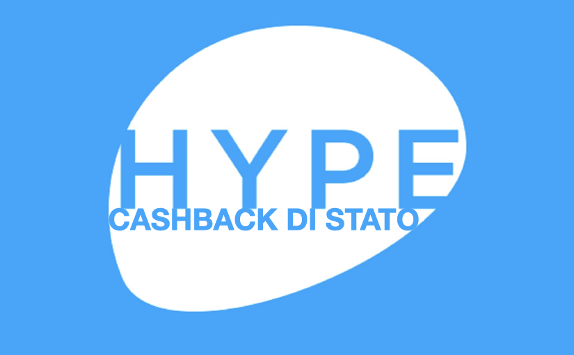 Con Hype si accede al cashback di stato