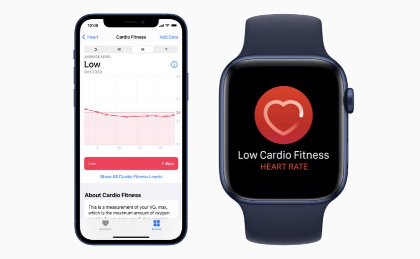 Apple ha rilasciato watchOS 7.2, con le notifiche sul tono cardiovascolare