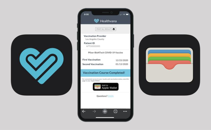 Il certificato di vaccinazione nel Wallet di iOS
