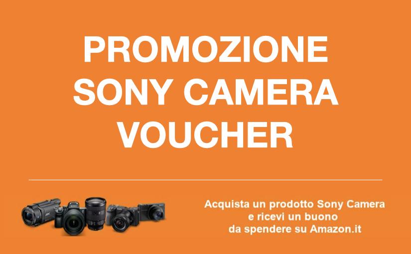 Promozione Sony Camera Voucher 2020