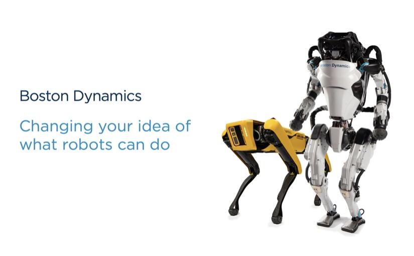 Gli automi della Boston Dynamics ballano per salutare il 2021