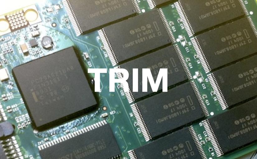 Tutto quel che c'è da sapere sul Trim per gli SSD