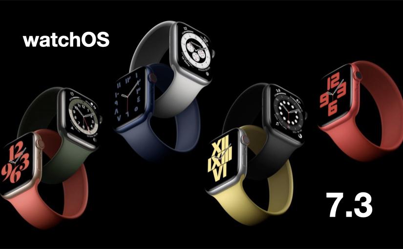 Apple rilascia WatchOS 7.3