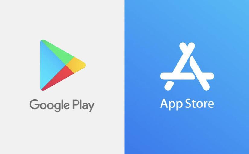 App Store e Google Play Store