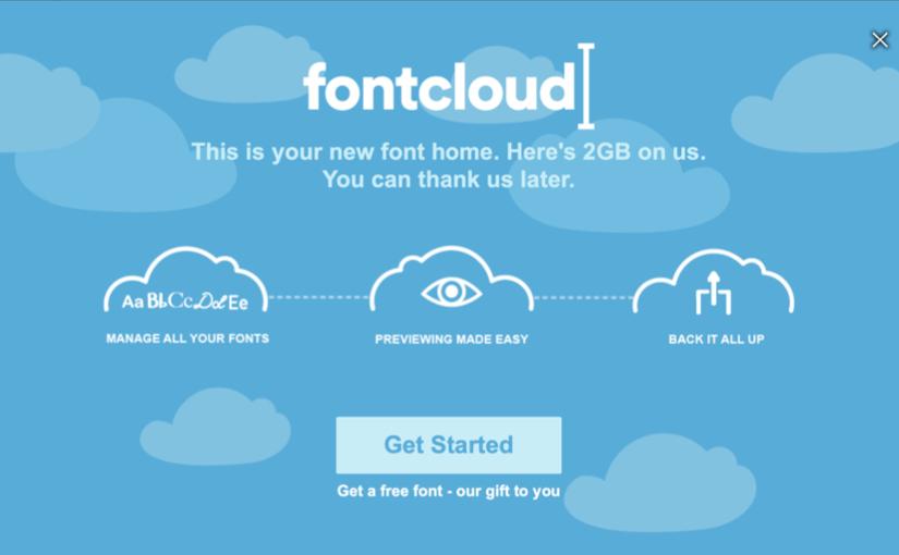 Fontcloud, la tua nuova Home per i font